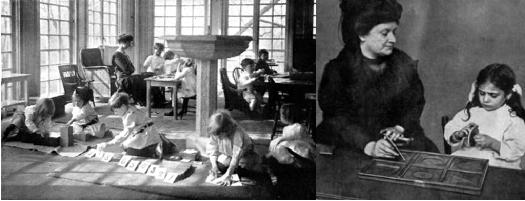 Sfaturi  ale   Mariei  Montessori  in educatia copiilor